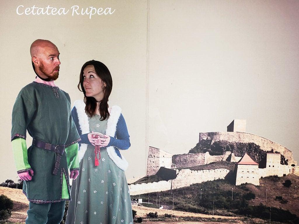 transylvania romania road trip  rupea fortress