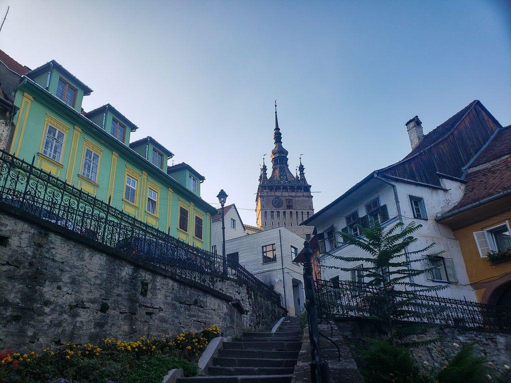 transylvania romania road trip shigisoara