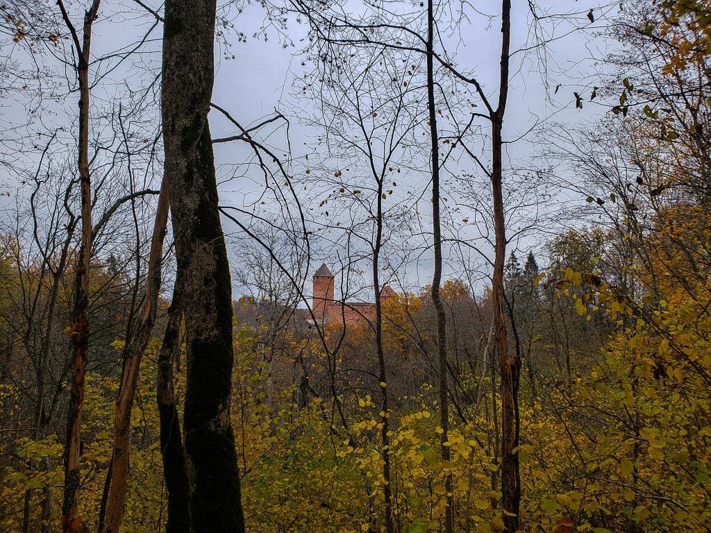 sigulda latvia autumn