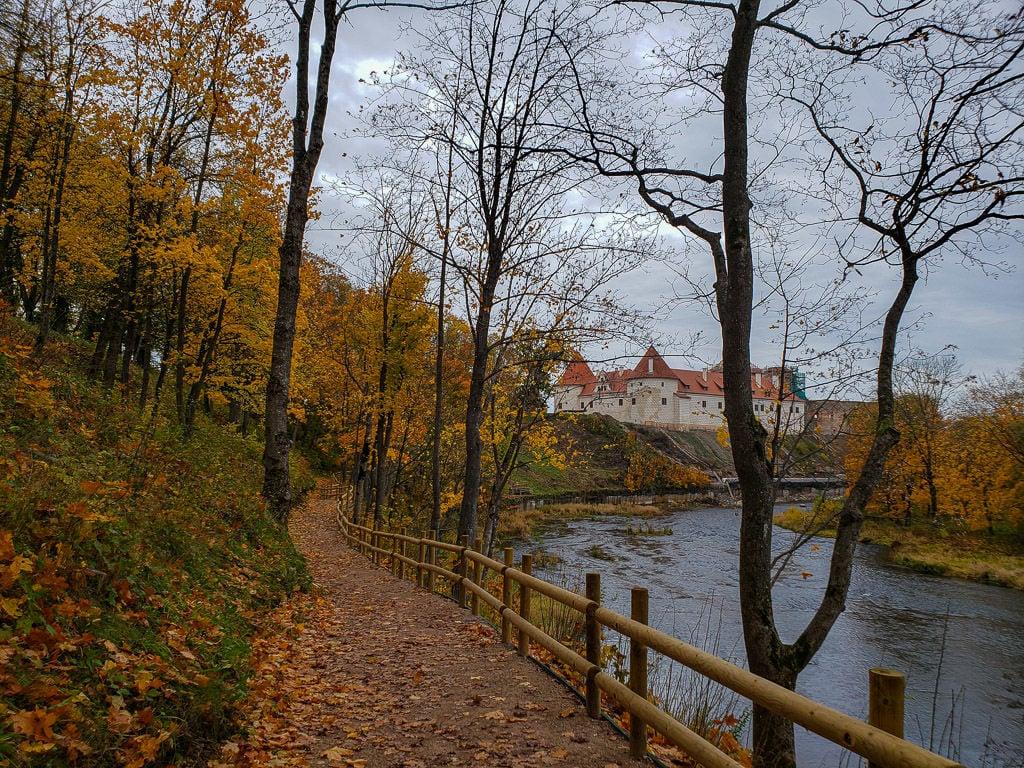 riga latvia bauska castle