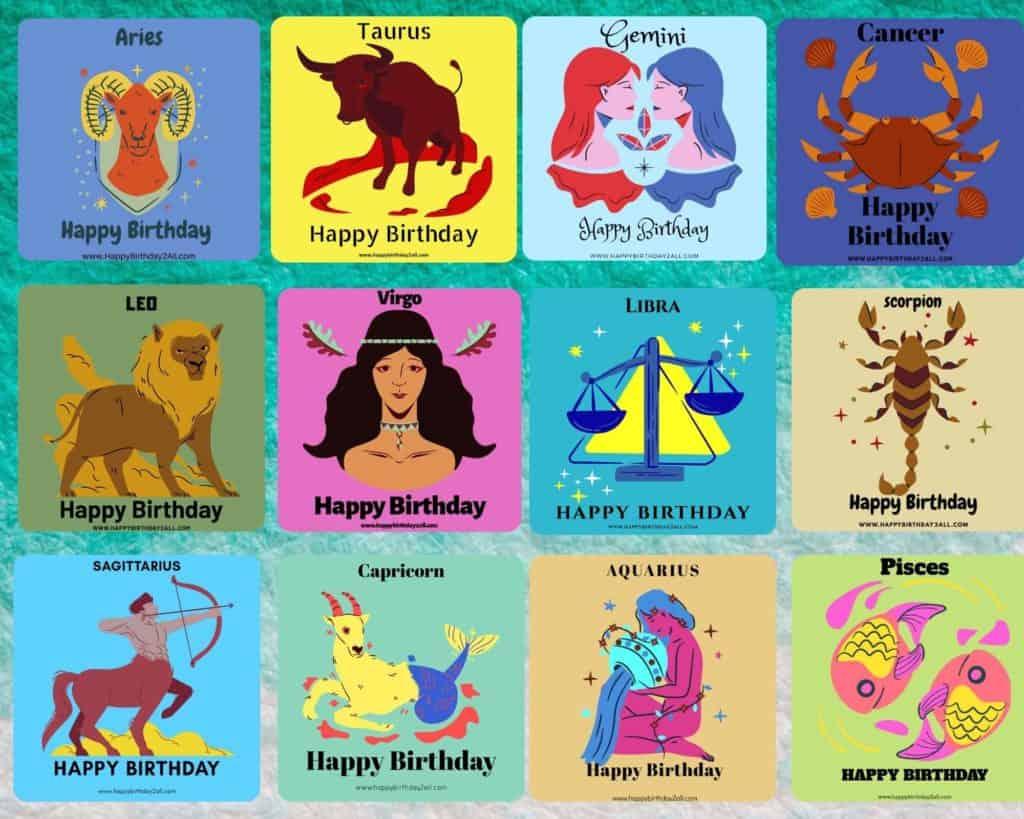 birthday zodiac signs