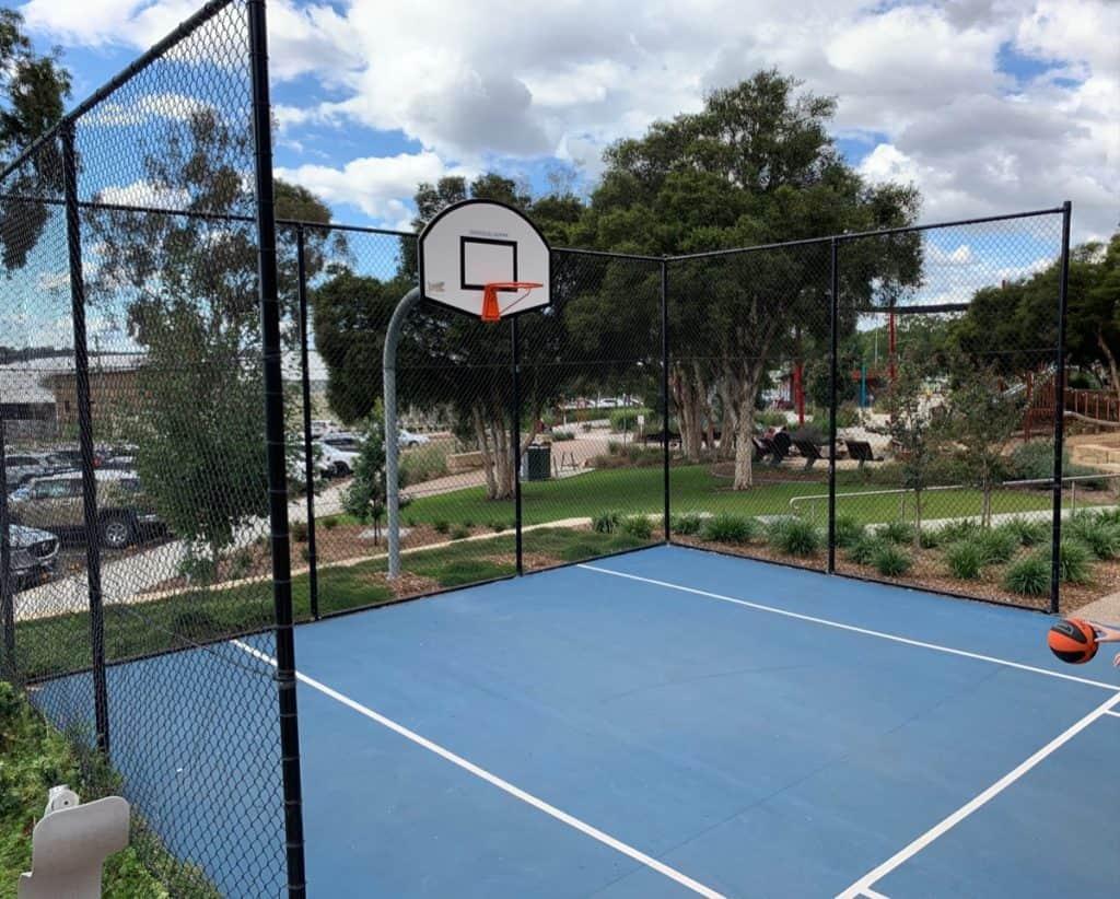 Bridges Hill Playground Basketball Court