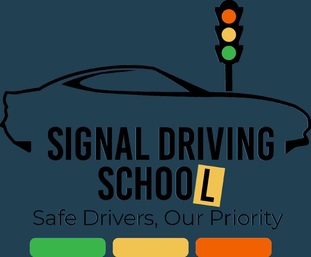 Driving School Logo black