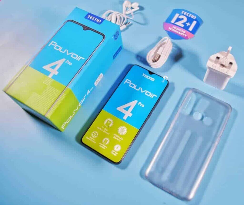TECNO Pouvoir 4 Pro accessories