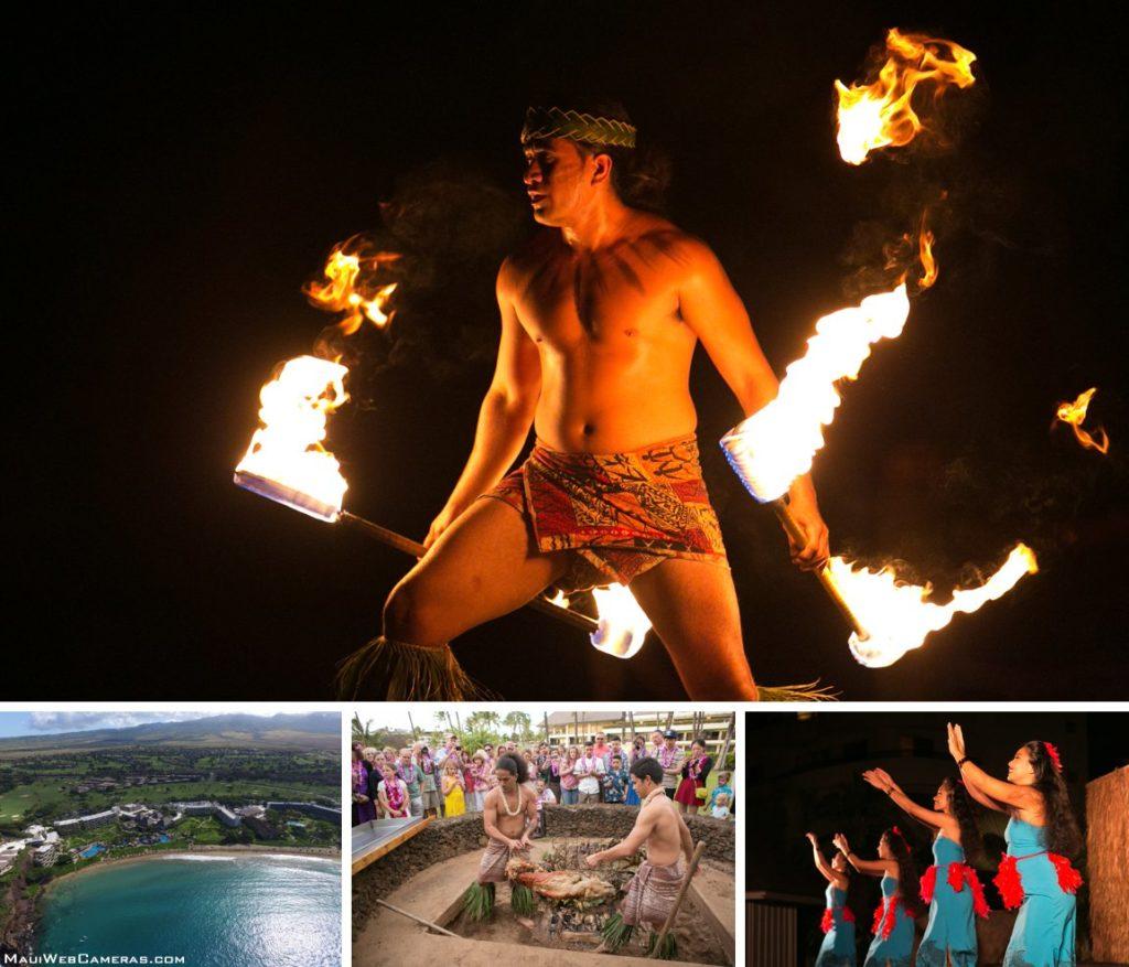 Sheraton luau Maui