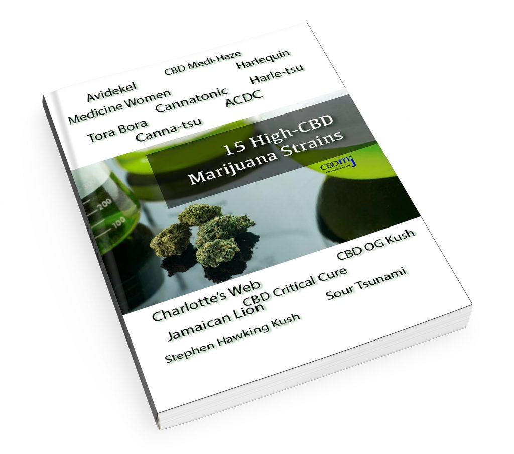 Free eBook: 15 Top High-CBD Marijuana Strains in America, CBD Medical Journal