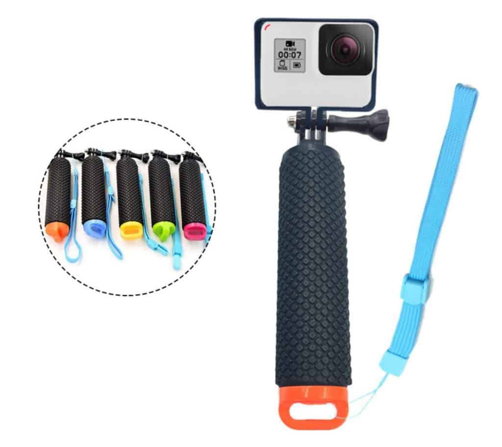 Top 5 Best AliExpress GoPro Alternatives Copy Cheap Action Camera Best Video Quality AliExpress Bouyance Rod 1