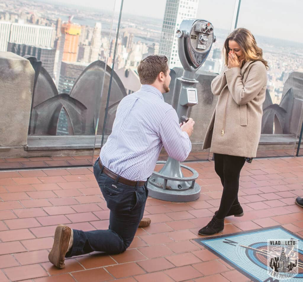 Photo 3 Top of the Rock Marriage Proposal 3 | VladLeto