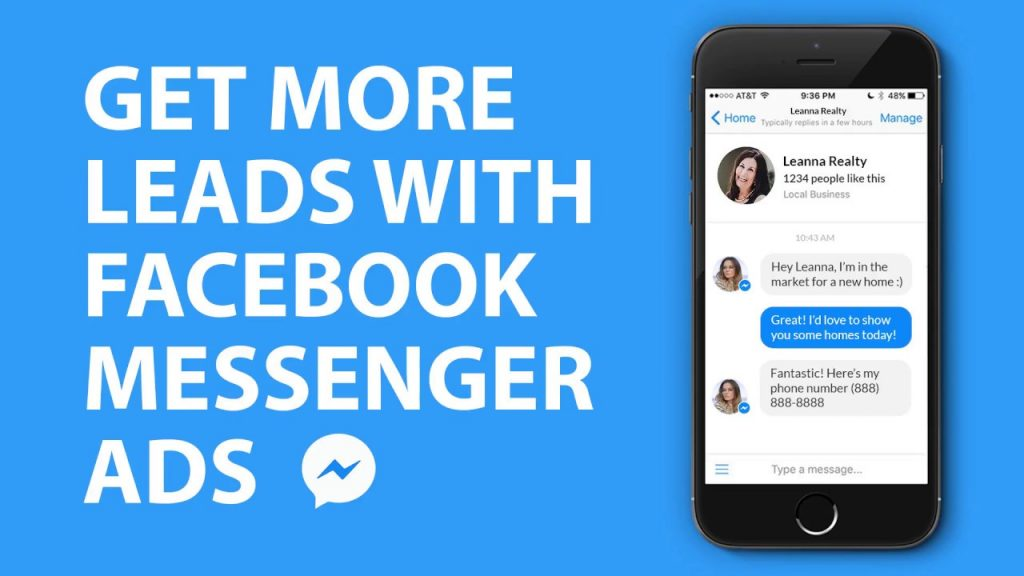 Conversational Marketing - Facebook Messenger BOTS - Lead Generation Gen 2020