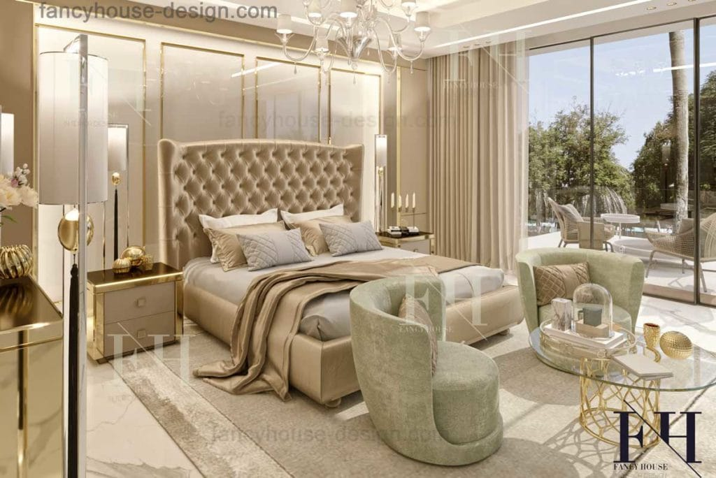 Master bedroom interior design in Dubai UAE| Bedroom ...