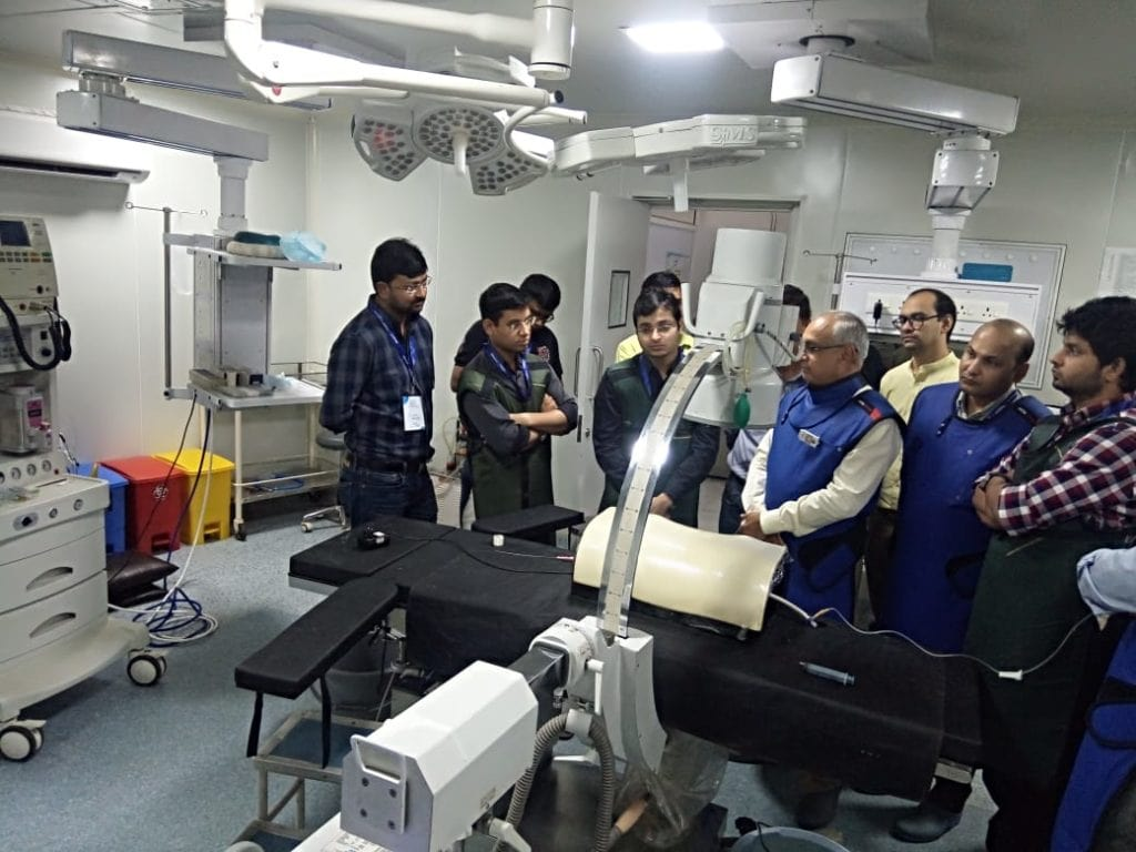 Jyoti Hospital is a recognized training ground for budding Urologists