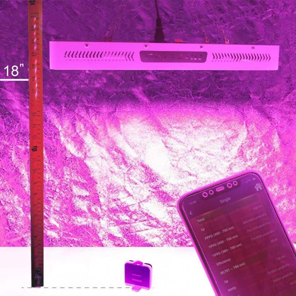 Phlizon 2000 led grow light - photo 4
