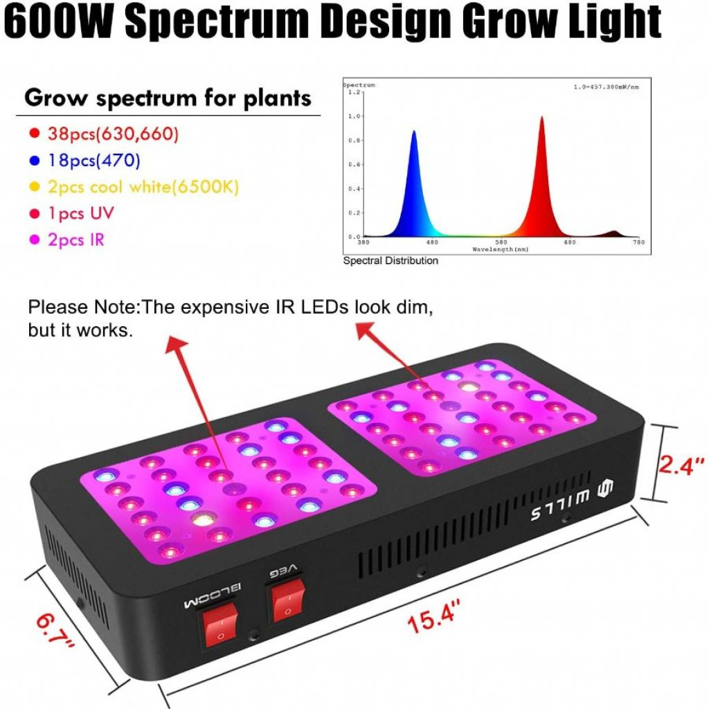 Wills Newest LED Grow Light - photo 3