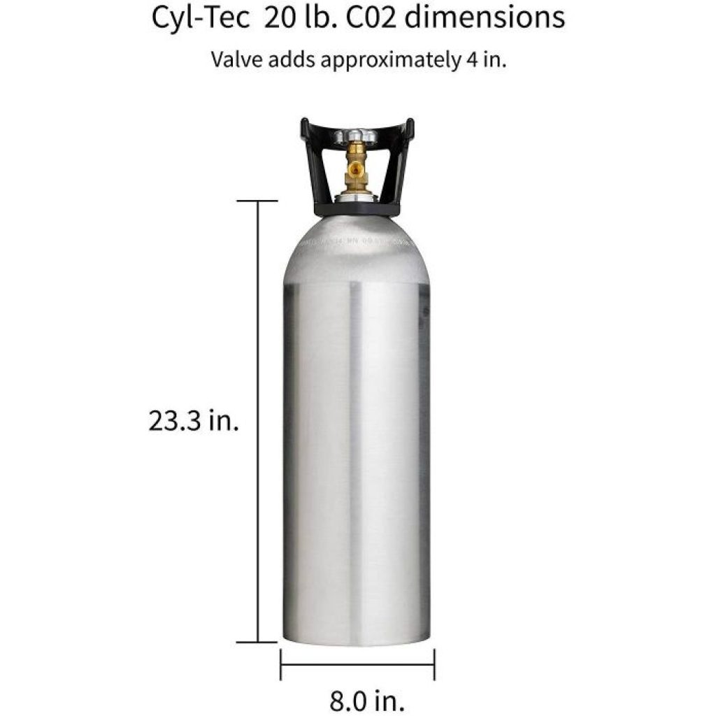 Cyl Tec CO2 tank - photo 1