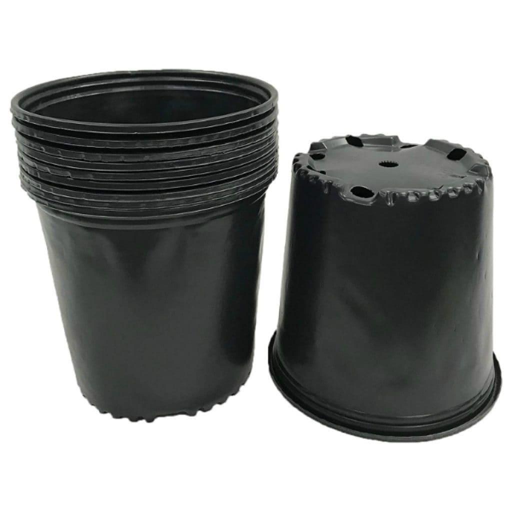 Viagrow-2-Gal.-Plastic-Nursery-Pots-7.57-liters-10-Pack