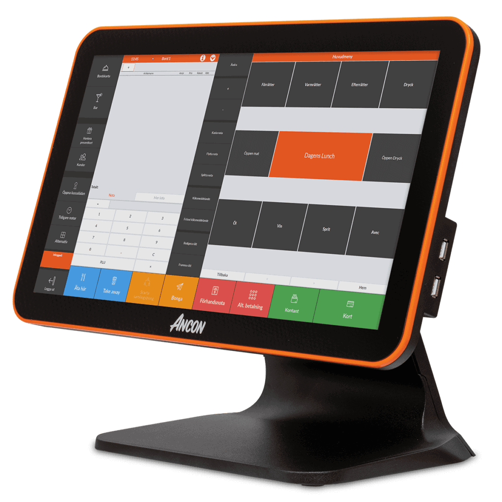 POS system for Restaurant Display