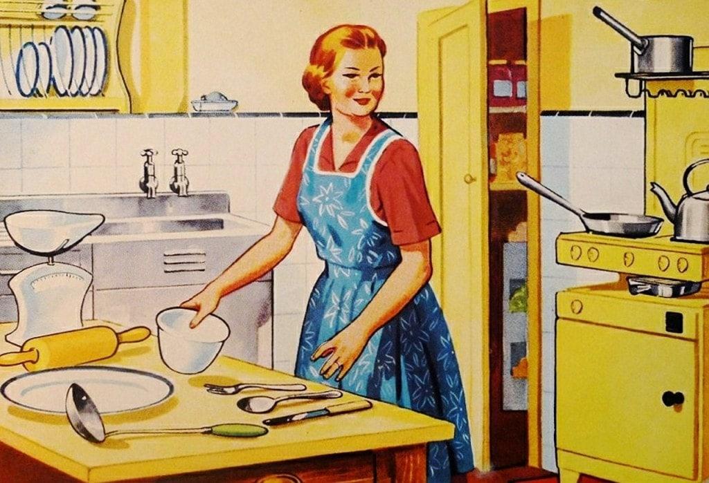 Die perfekte Ehefrau der 50er