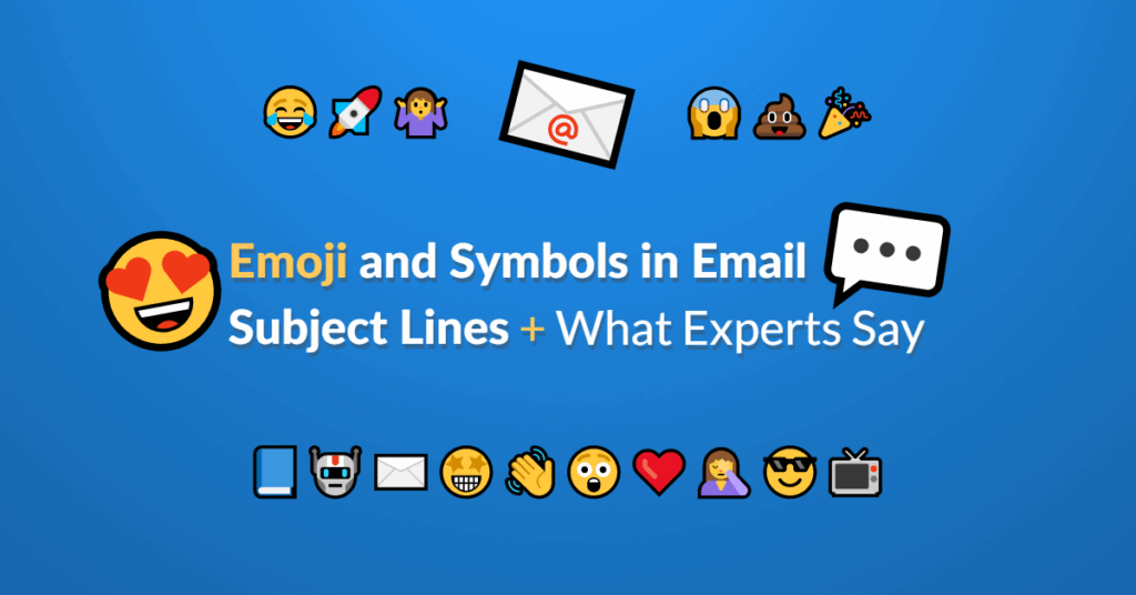Using emoji and symbols in email subject lines featured image