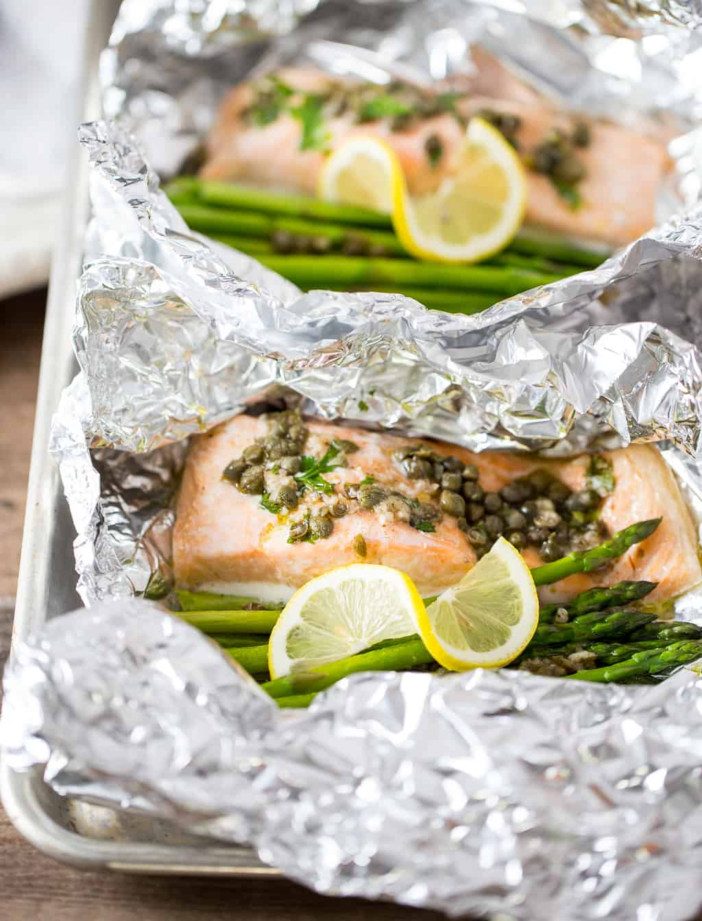 Salmon Foil Packets