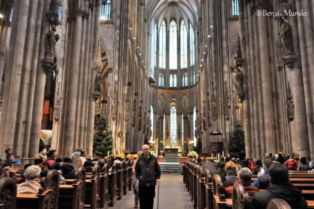 interior da catedral de Colónia