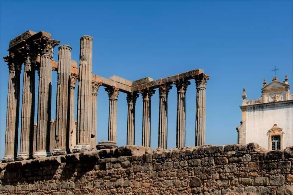 Templo edificado pelo Império Romano