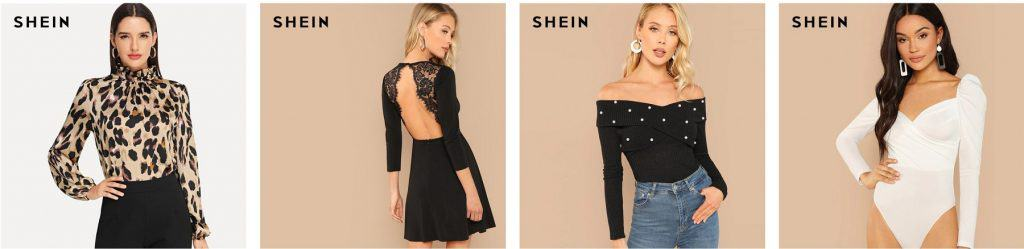 Women Fashion replica Shein Zara Topman Forever21