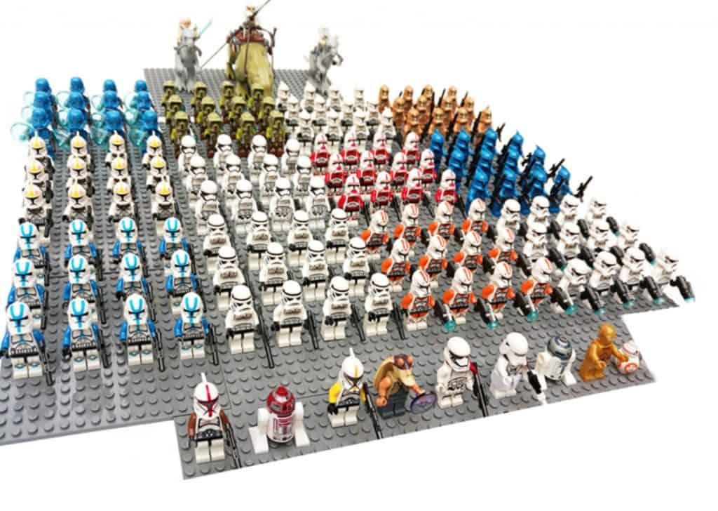 AliExpress Lego Replica Lego Alternative Lego Clone AliExpress Blocks Store Starwars Minifig Storm Troopers
