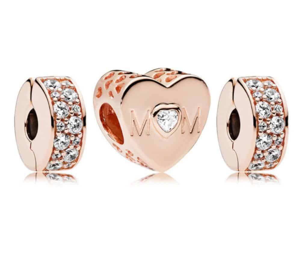 Pandora Charm Replica AliExpress Pendant 001 Mother Day Mom Heart 1