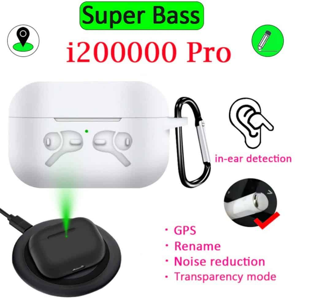 fake airpod pro from China reliable with GPS Popup