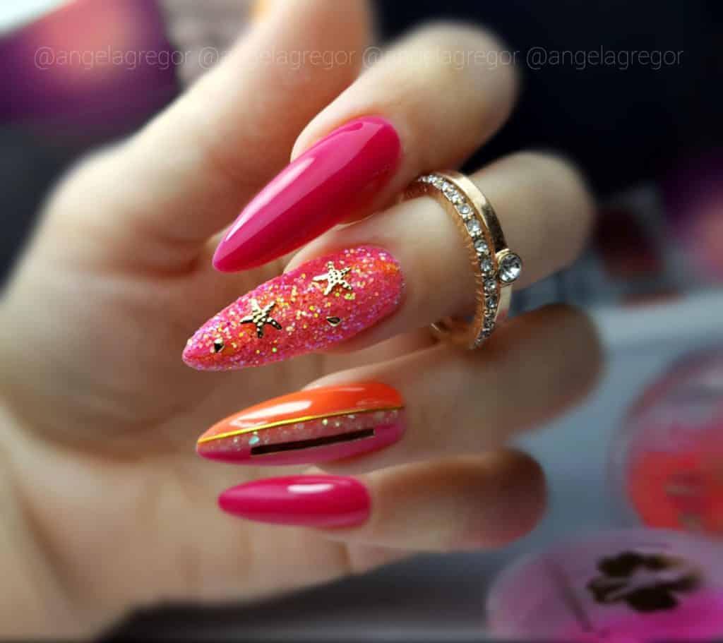 zimowy kolor na paznokciach cabaret