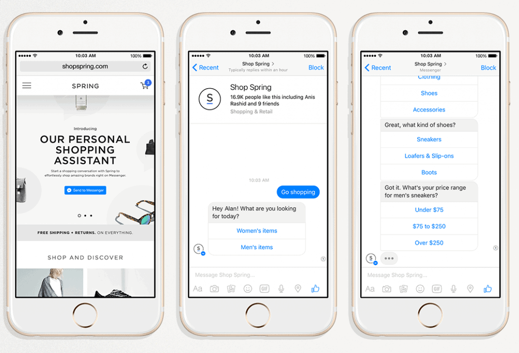 facebook chatbots for brands
