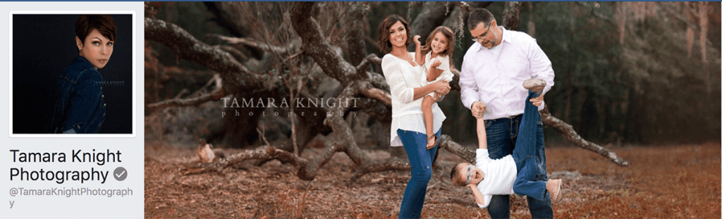 Tamara King Photography Facebook cover