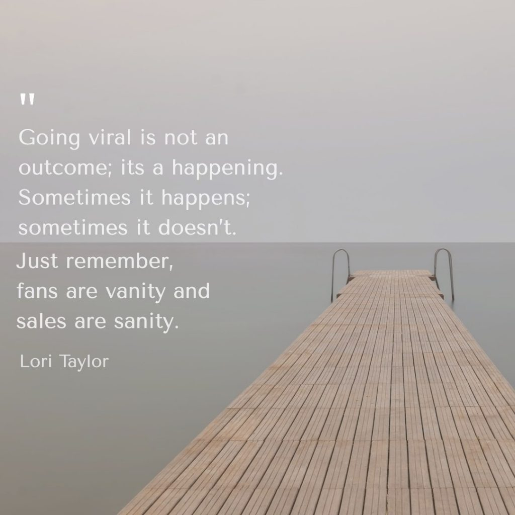 quote about viral marketing