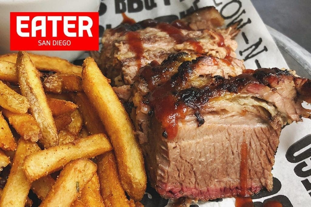 Cali Comfort BBQ Featured in Eater San Diego