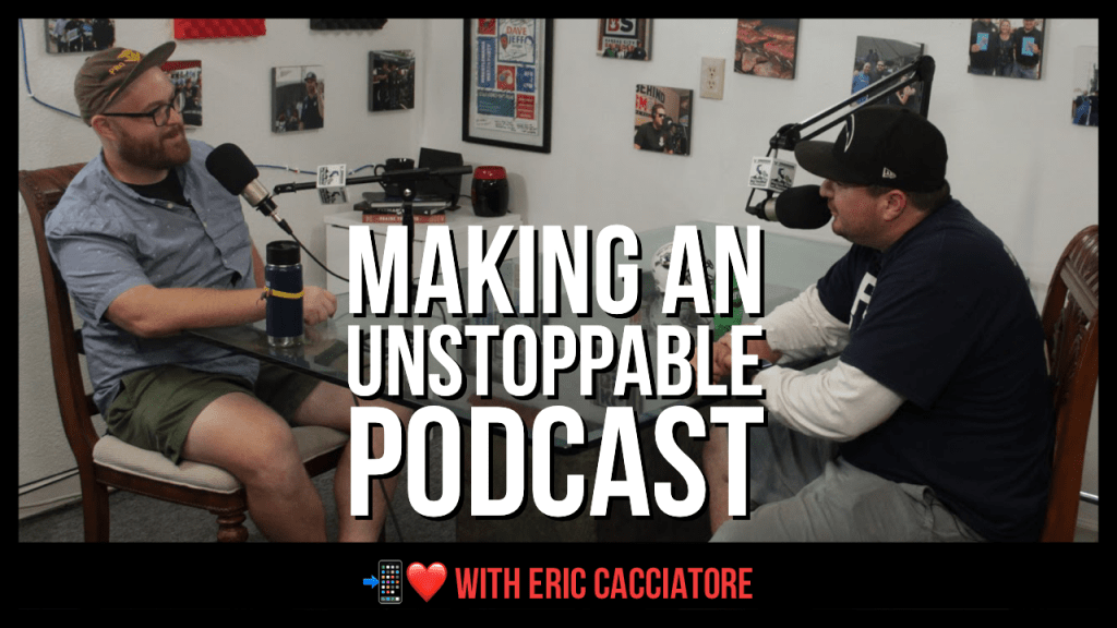 Eric Cacciatore of Restaurant Unstoppable podcast on Digital Hospitality