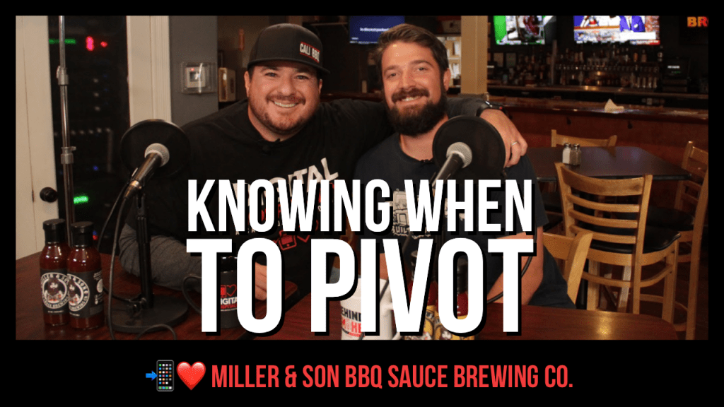 Miller and Son BBQ Sauce Brewing Company on the Digital Hospitality podcast