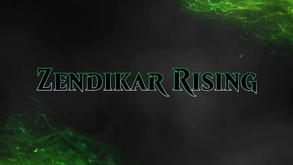 Zendikar Rising Spoilers Banner