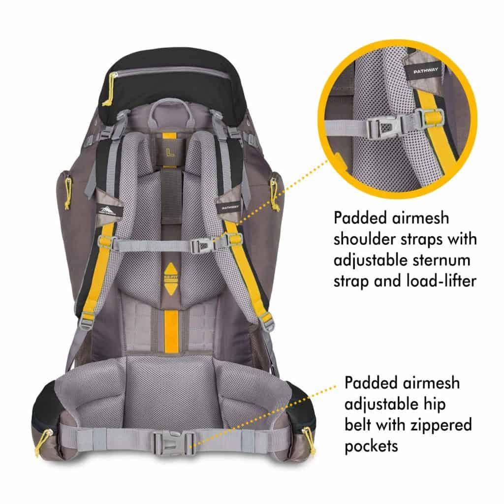High sierra hiking backpack - photo 4