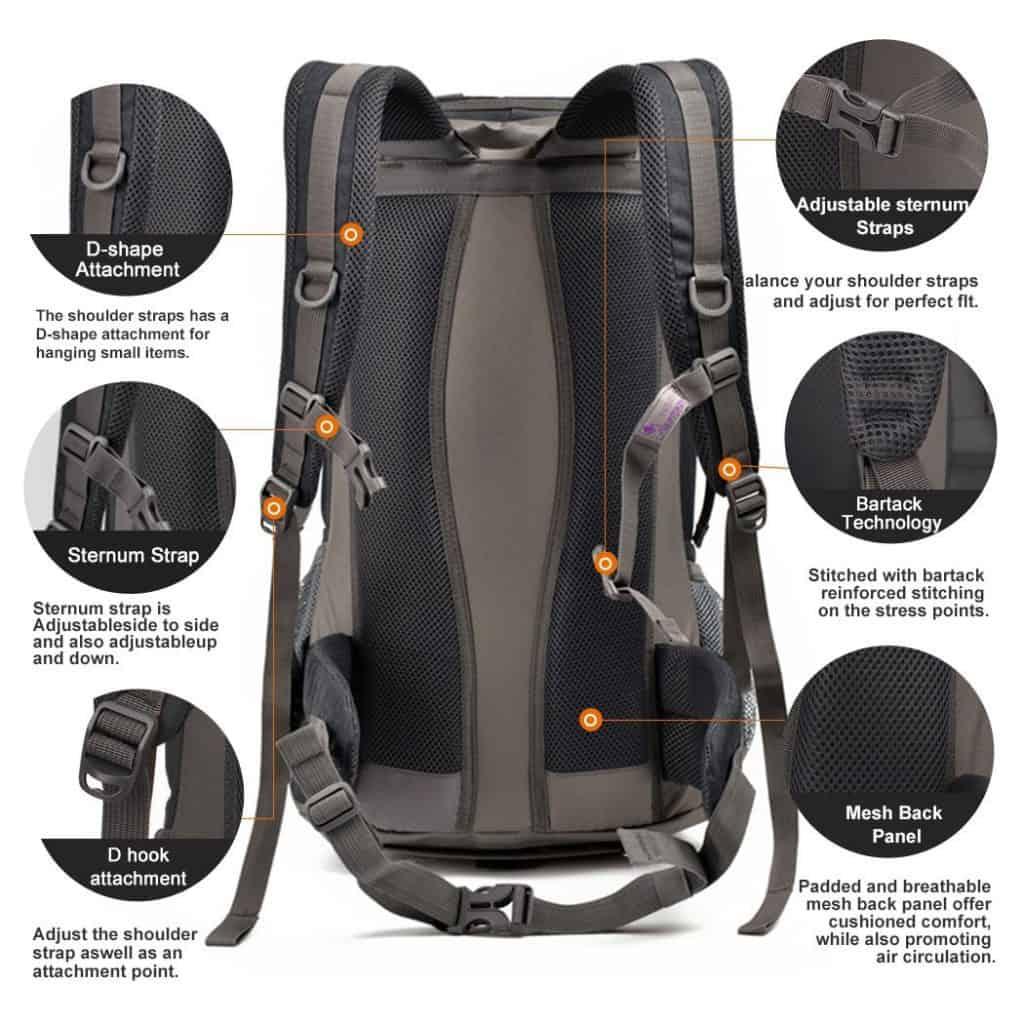 Mountaindrop hiking backpack - photo 2