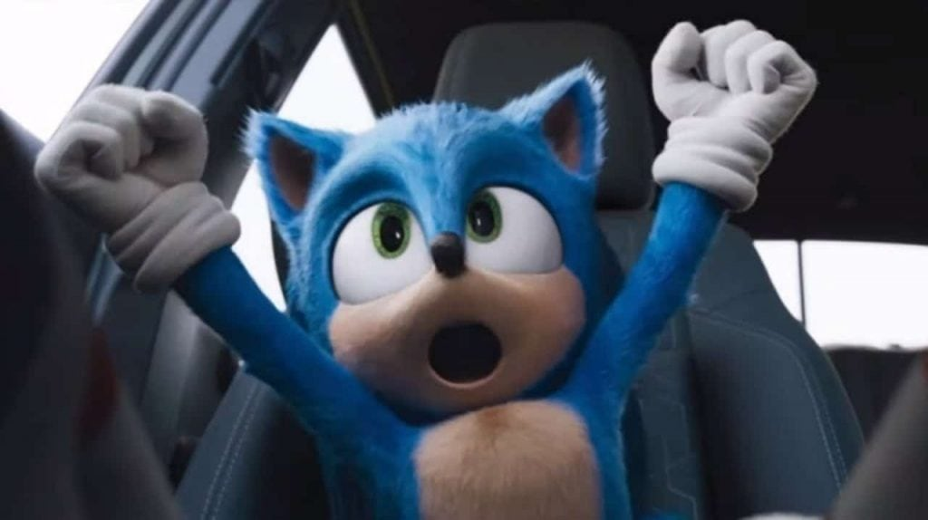 sonic video game movie