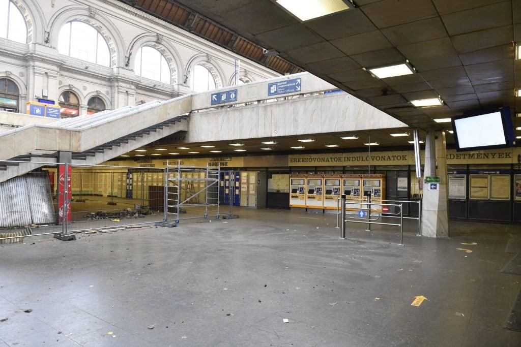 Budapest's Keleti station closed for maintenance