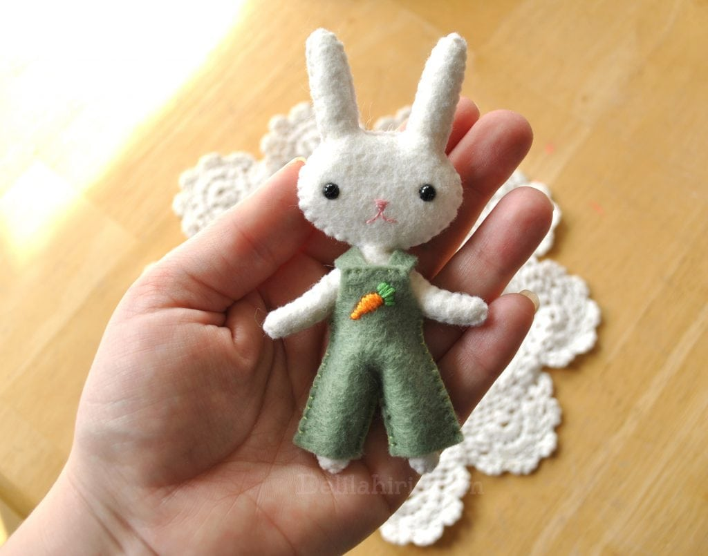 easter bunny doll pattern