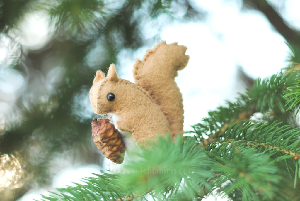 felt squirrel