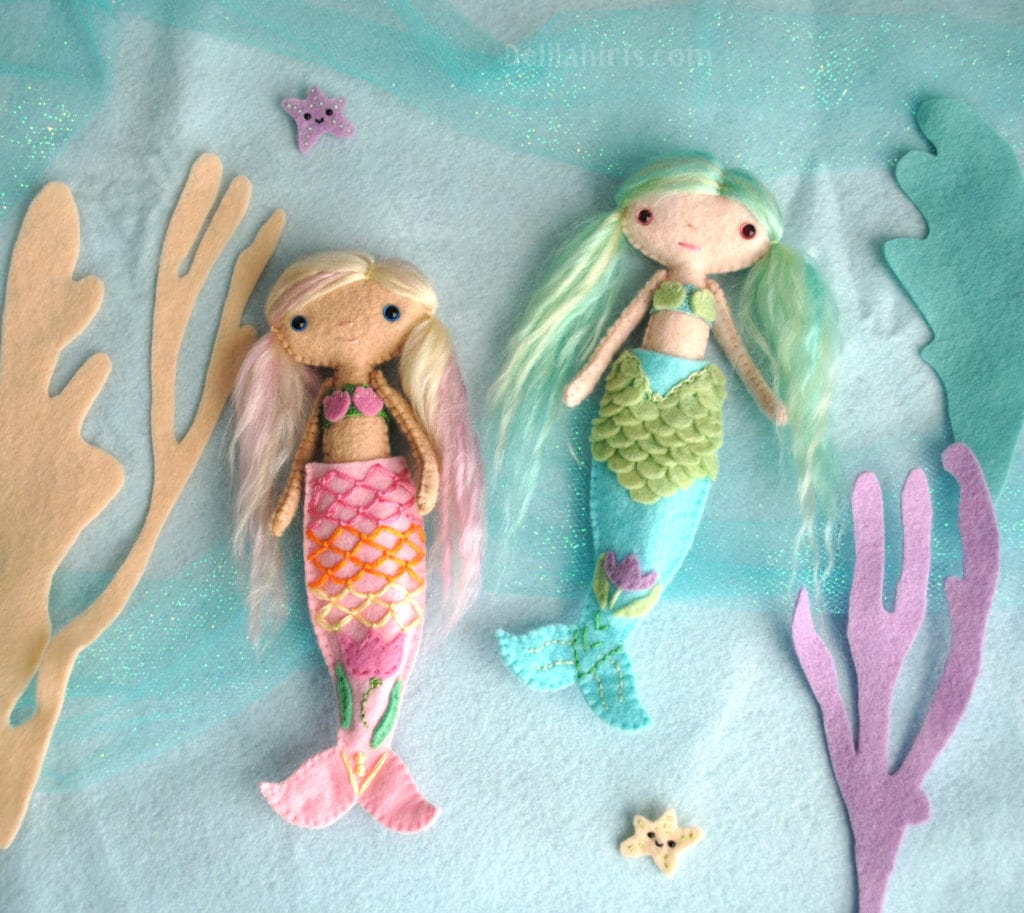 make your own mermaid doll