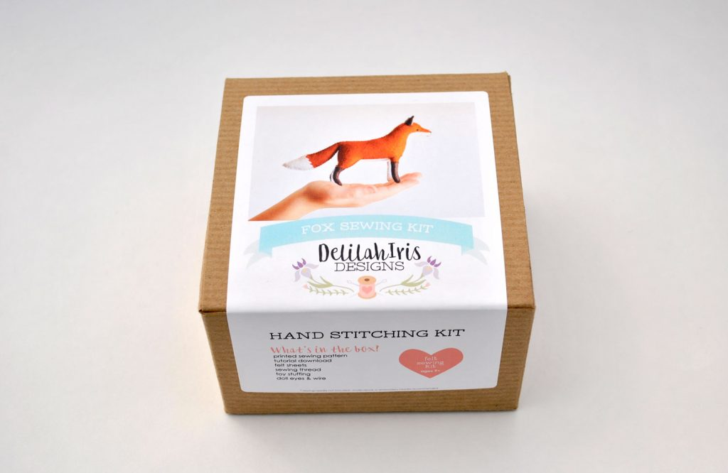 stuffed fox craft kit