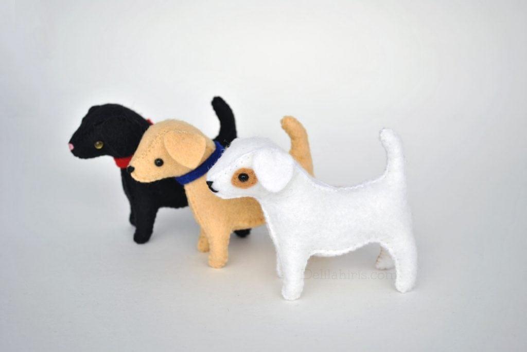 dog stuffed animal sewing pattern