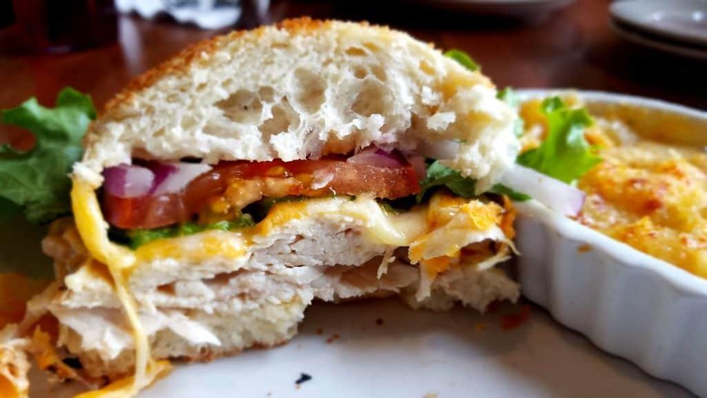 Old Canal Smoke House Smoked Turkey Sandwich