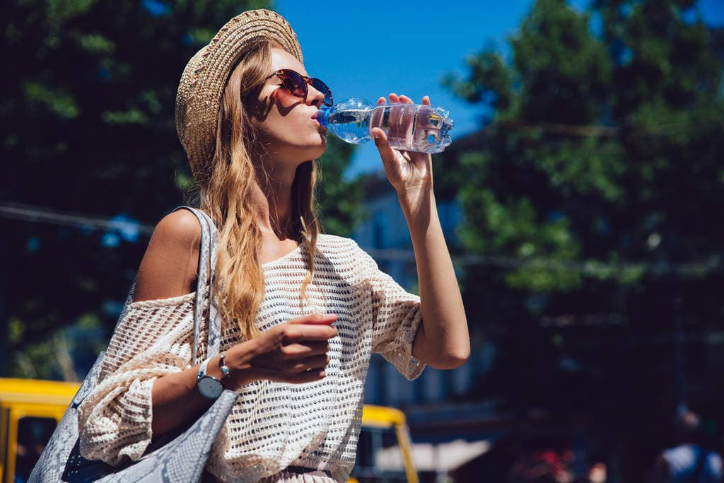 como hidratar o corpo