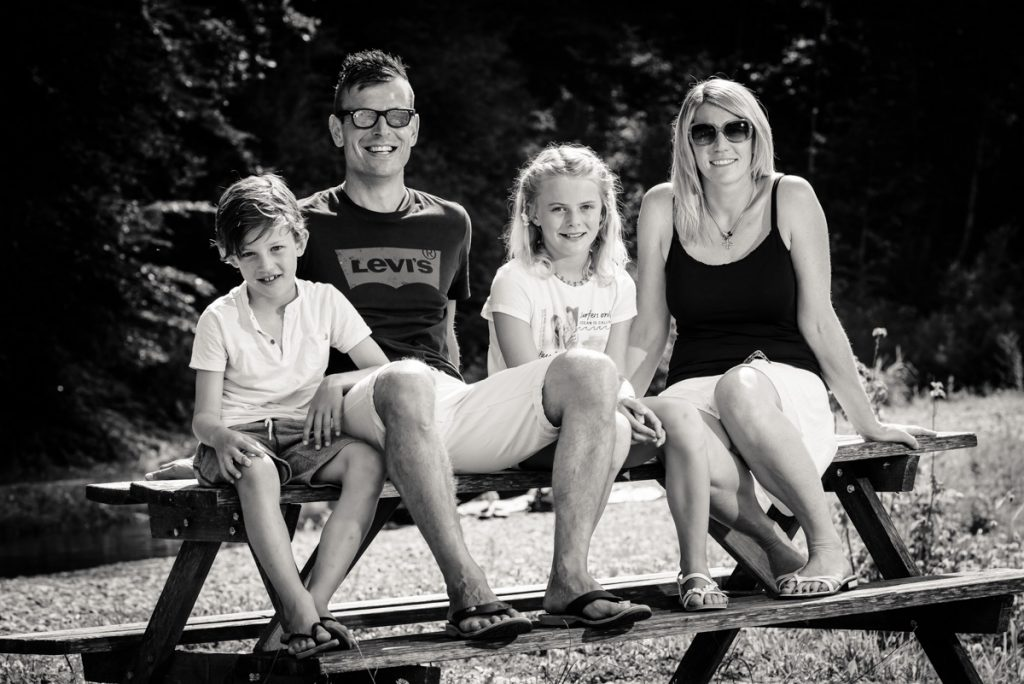 Fotograf Kempten Outdoor Portrait Familie Kempten Hohenegger