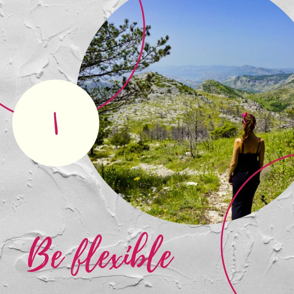 Be flexible - Experiencing the Globe